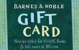B&N gift card